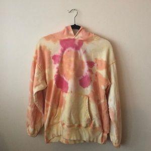 DANNIJO Tie Dye Hoody Sweatshirt-M - like new